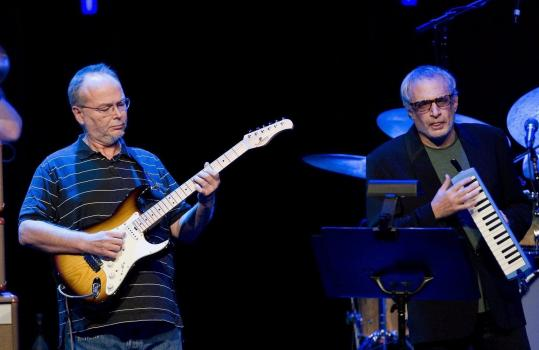 "Steely Dan's Walter Becker (left) and Donald Fagen will play the albums ""Aja'' and ""Gaucho'' in full, followed by an all-request show."