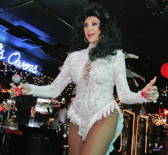 Chris Owens performs at her club in the French Quarter of New Orleans. She has entertained in the city for more than 50 years.