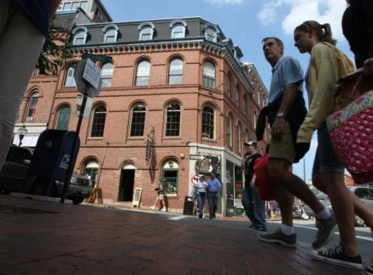 Portland is for walkers and eaters and sailors the - Portland maine hotels old port district ...