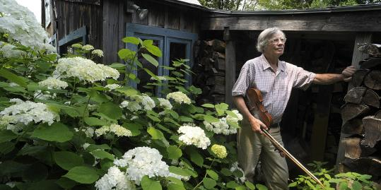 Recalling the shy kid in the corner he used to be, New Hampshire musician, dance caller, and farmer Dudley Laufman has sought to keep the music welcoming.
