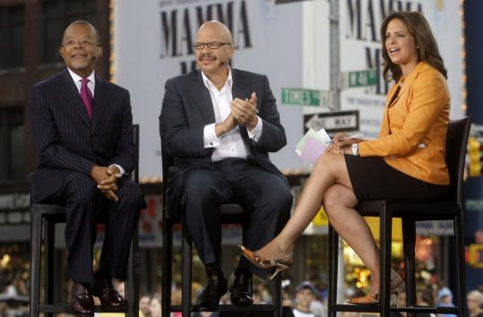 Harvard professor Henry Louis Gates Jr. (left) was in New York yesterday and interviewed by CNN's Soledad O'Brien (right). Gates's profile has been raised since being arrested on a charge of disorderly conduct outside his home in Cambridge.