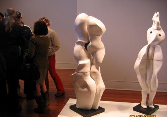 Sculptures by Florence Suerig at Silvermine Guild Arts Center in New Canaan, Conn. (exit 38).