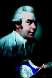 Joseph Banks was a botanist on Captain Cook's voyages and promoted the work of astronomer William Herschel.