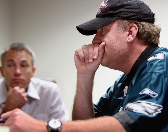 Curt Schilling recruited chief executive Brett Close (left) from Electronic Arts Inc., which makes video games like Madden NFL.