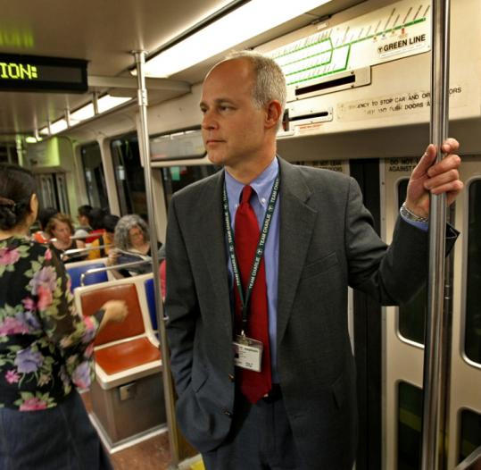 "Three MBTA board members issued a letter yesterday questioning the leadership of T General Manager Daniel Grabauskas, describing him as ""out of touch.''"
