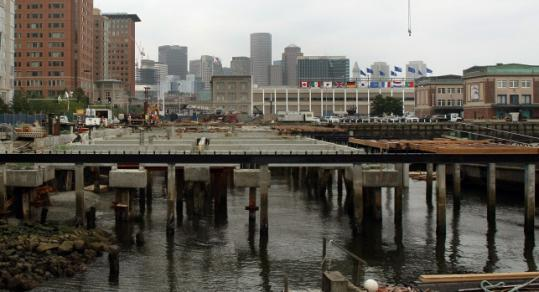 Three buildings will occupy the new Liberty Wharf.