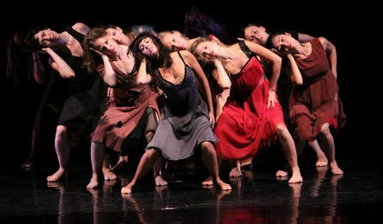 """KARLI CADELLes Grands Ballets Canadiens de Montreal perform the raucous """"Cantata.''"""