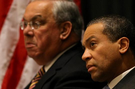 Mayor Menino and Governor Patrick regularly find themselves at odds.