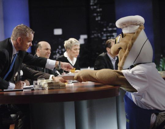 """""""Shark Tank,'' a new reality show, gives budding entrepreneurs the chance to make it big."""