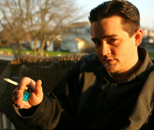 Scott Rodrigues, shown on the porch of his Buzzards Bay apartment in 2006. His lawyer says he will appeal the decision.