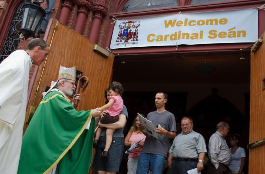 Last Sunday, Cardinal Sean P. O'Malley marked the 25th anniversary of his ordination as a bishop. The Boston Archdiocese will hold a celebration Sept. 16, when O'Malley will headline a 'priest appreciation dinner' as a fund-raiser for the cash-strapped priest pension funds.