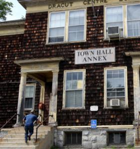 The Dracut Town Hall Annex, built in the 1800s, is not handicapped accessible.