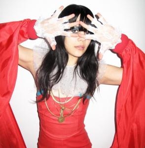 Natasha Khan, who performs under the name Bat for Lashes, has been compared to Kate Bush and Björk.