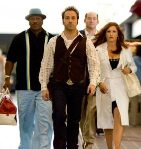 From left: Ving Rhames, Jeremy Piven, David Koechner, and Kathryn Hahn in