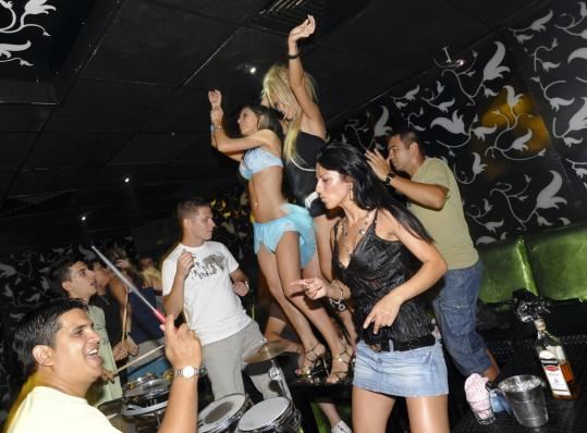 Clubs in Sofia&#8217;s Studentski grad provide raucous nightlife with a Balkan pop beat called chalga.