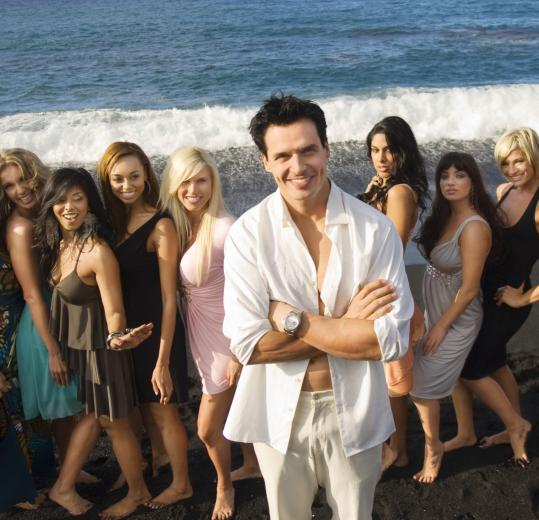 "Antonio Sabato Jr. is the center of attention on VH1's new dating show, ""My Antonio.''"