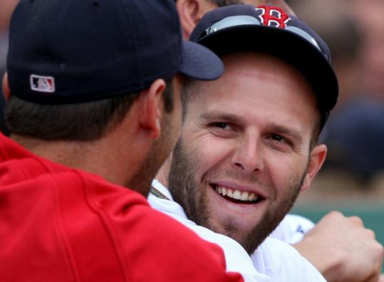 Red Sox second baseman Dustin Pedroia got a rare day off yesterday but will be back in action tonight in Texas.