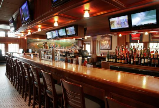 The Fours new restaurant in Norwell boasts a long bar and genuine sports memorabilia including poster-sized photos, paintings, and the framed jerseys of Boston sports greats. Sports Illustrated once named the original Fours in Boston the best sports bar in America.