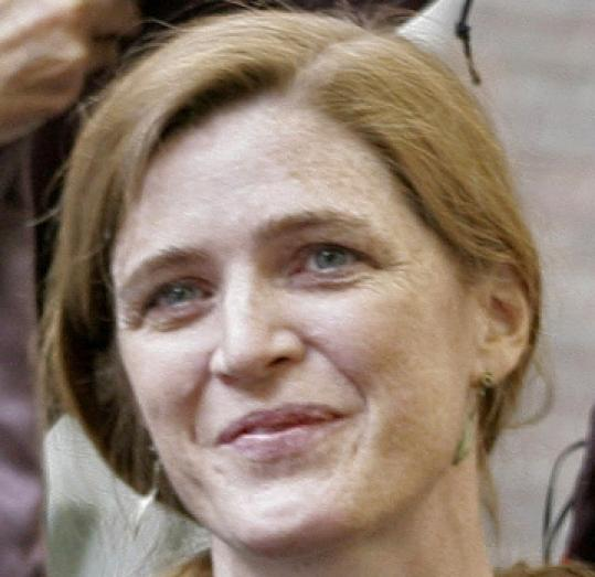 Samantha Power was chosen to work with the State, Defense, and Homeland Security departments.