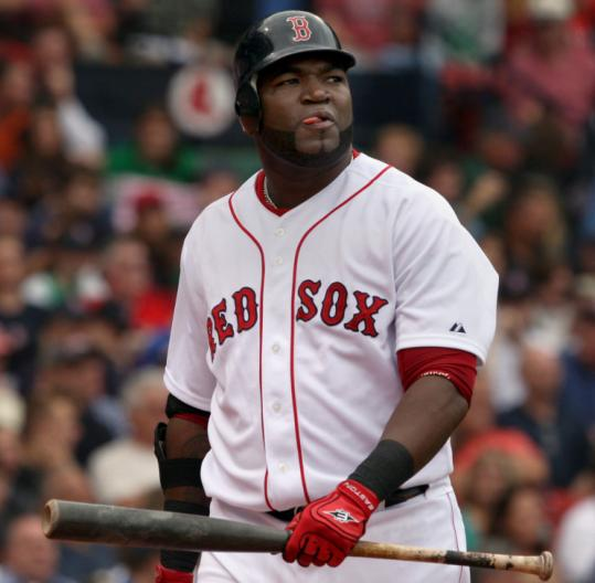 It's been a bummer summer for David Ortiz, who entered last night's game at Texas hitting just .114 in August.