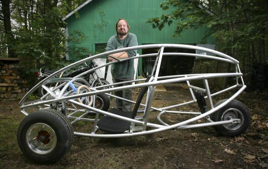 Roo Trimble and six others will compete to drive 100 miles on just 1 gallon.
