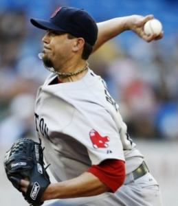 In his worst outing since June, Josh Beckett allowed nine hits and seven runs over 5 1/3 uninspired innings.