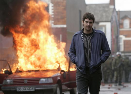Jim Sturgess is IRA informer Martin McGartland in 'Fifty Dead Men Walking.'
