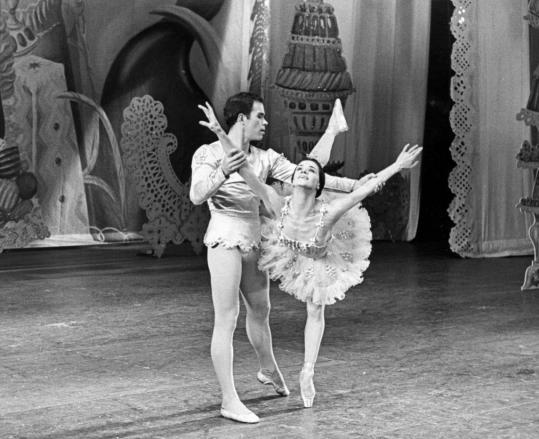 "Andre Prokovsky performed with Melissa Hayden in a stage version of Tchaikovsky's ""The Nutcracker,'' as well as many other productions for the New York City Ballet."