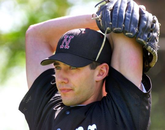 Greg Montalbano's pitching arm earned him a place in Northeastern's Hall of Fame in 2005.