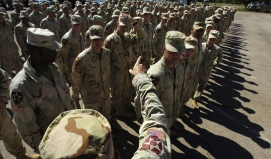Some of the soldiers who returned to Fort Carson, Colo., from Iraq in 2005 have had problems with post-traumatic stress.