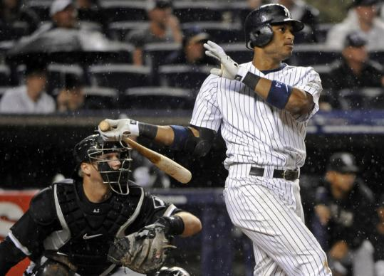 Robinson Cano's three-run shot for New York was his first career walkoff HR.