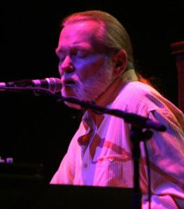 Greg Allman, pictured at the Beacon Theatre in New York.