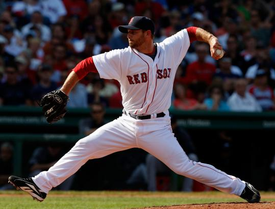 Billy Wagner fanned Aaron Hill, Lyle Overbay, and Vernon Wells in a scoreless eighth, helping the Sox seal a 7-0 win.