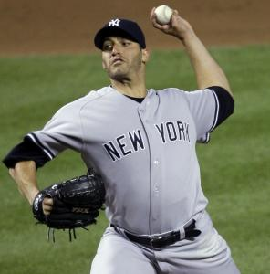Andy Pettitte was perfect for the Yankees until the seventh inning.
