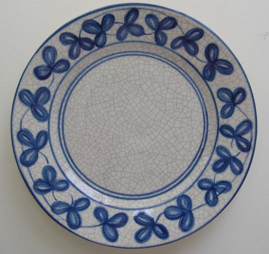 The Dedham Historical Society is selling reproductions of the Clover Plate.