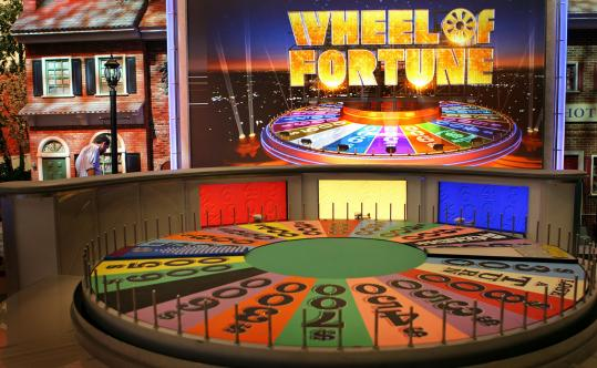 WHEEL OF FORTUNE - The show landed at the Boston Convention and Exhibition Center to film 15 episodes this week.
