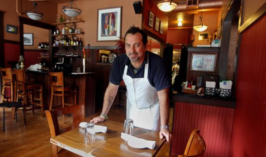 Manny Sifnugel brought his culinary skills from the South End to West Roxbury.