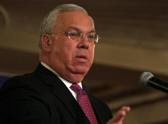 Mayor Thomas M. Menino has been campaigning hard, even though one analyst says he is apt to have smooth sailing.