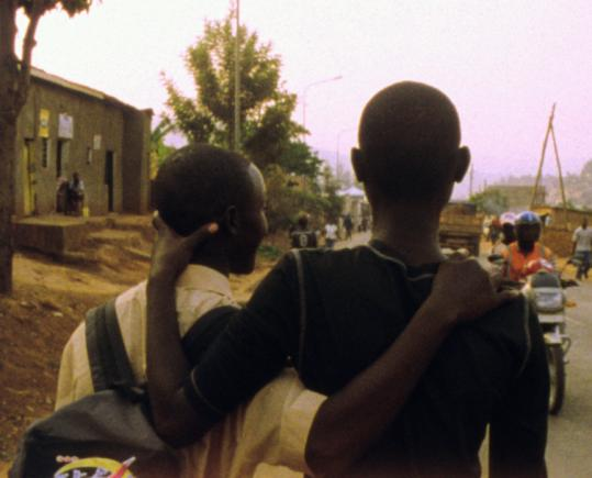 "Jeff Rutagengwa and Eric Ndorunkundiye, two real-life genocide orphans, star in ""Munyurangabo.''"