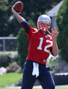 Patriots quarterback Tom Brady, who has a sore right shoulder, said he is getting back to feeling normal.