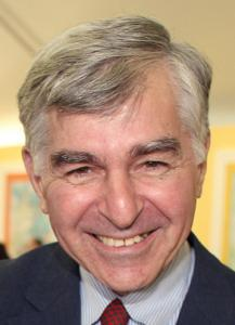 "Michael Dukakis narrated ""The Story of Frederick Law Olmsted'' at the Hatch Shell."