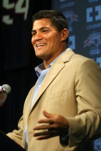 Tedy Bruschi is a natural in front of a microphone - so the retired Patriots linebacker might just stay there.
