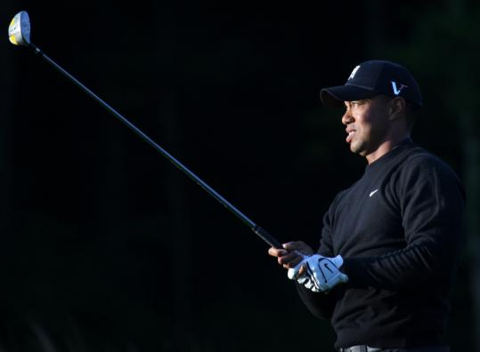Tiger Woods is glad to be back at TPC Boston after missing last year because of knee surgery.