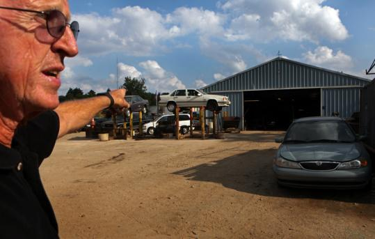 """This is like a second wave of stimulus to our economy,'' said Bill Goodale of Millis Industries, which has picked up about 200 clunkers from local dealers."