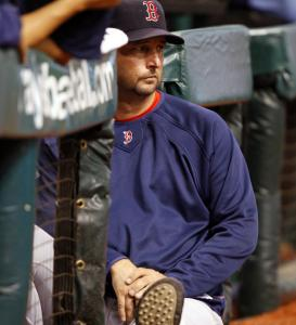 After a positive side session, Tim Wakefield can realistically look ahead to his next start - perhaps this weekend.
