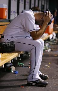 Being removed in the sixth inning - when the Sox took the lead - didn't sit well with Tampa Bay starter David Price.