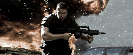 Gerard Butler plays a prisoner named Kable, the star combatant in a brutal online game.