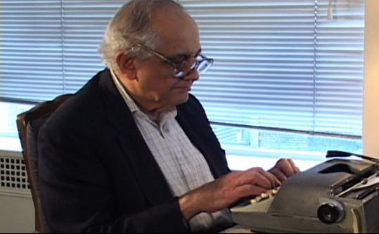 Andrew Sarris (above) is among the writers featured in Gerald Peary's documentary about film criticism.