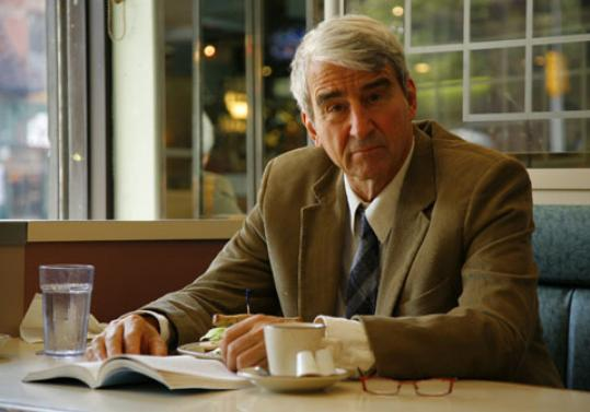Sam Waterston stars in 'Have You Seen Us?' at the Long Wharf Theatre in New Haven, Conn.