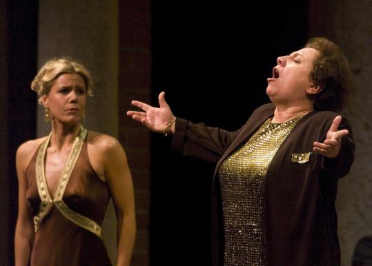 "Ewa Podles (above right; here with Georgia Jarman) makes her local stage debut next month in Opera Boston's performance of Rossini's ""Tancredi.'' Russell Sherman (below left) inaugurates the new Steinway at the New England Conservatory on Sept. 24. Richard Pittman leads Boston Musica Viva, his new-music group, on Sept. 25."